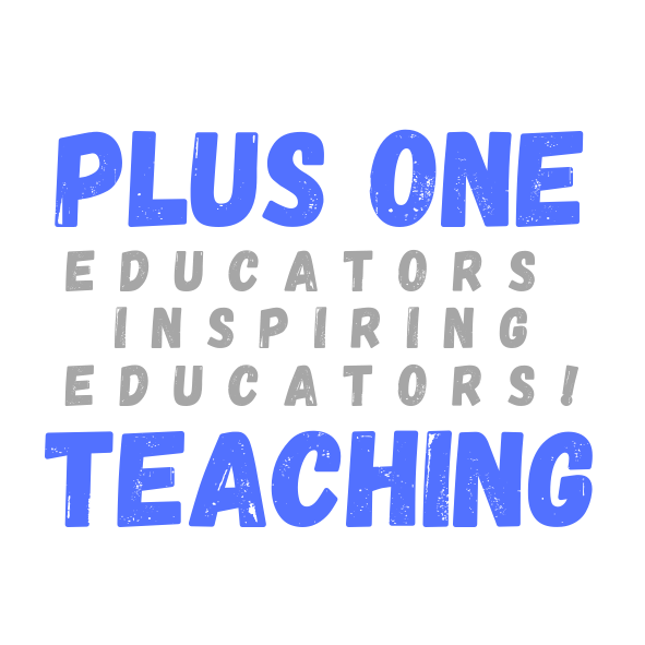Plus One Teaching logo square