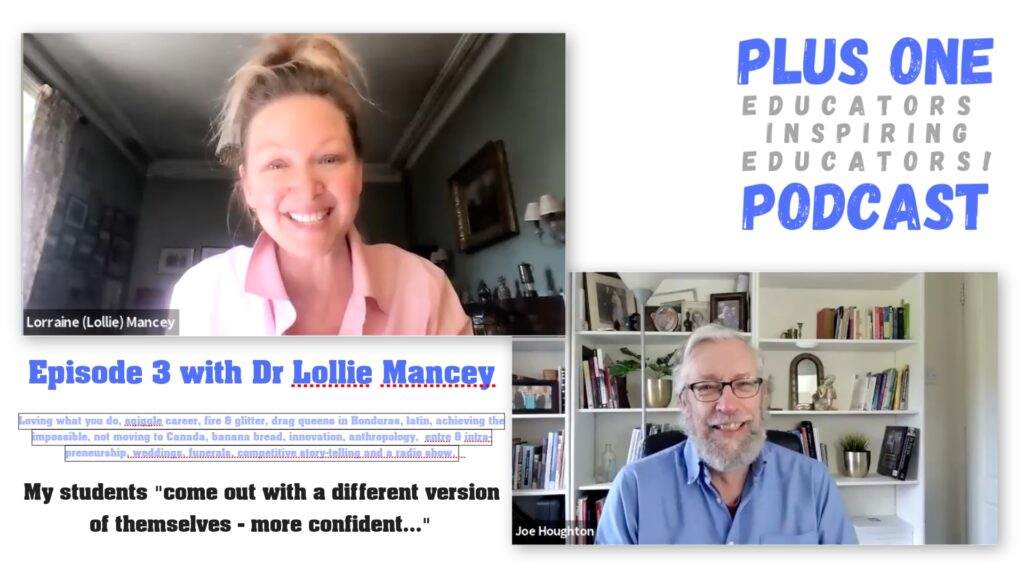 Episode 3 - Plus One Podcast - Lollie Mancey
