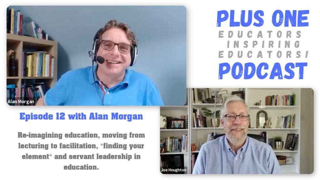 Alan Morgan & Joe Houghton on episode 12 of the Plus One podcast