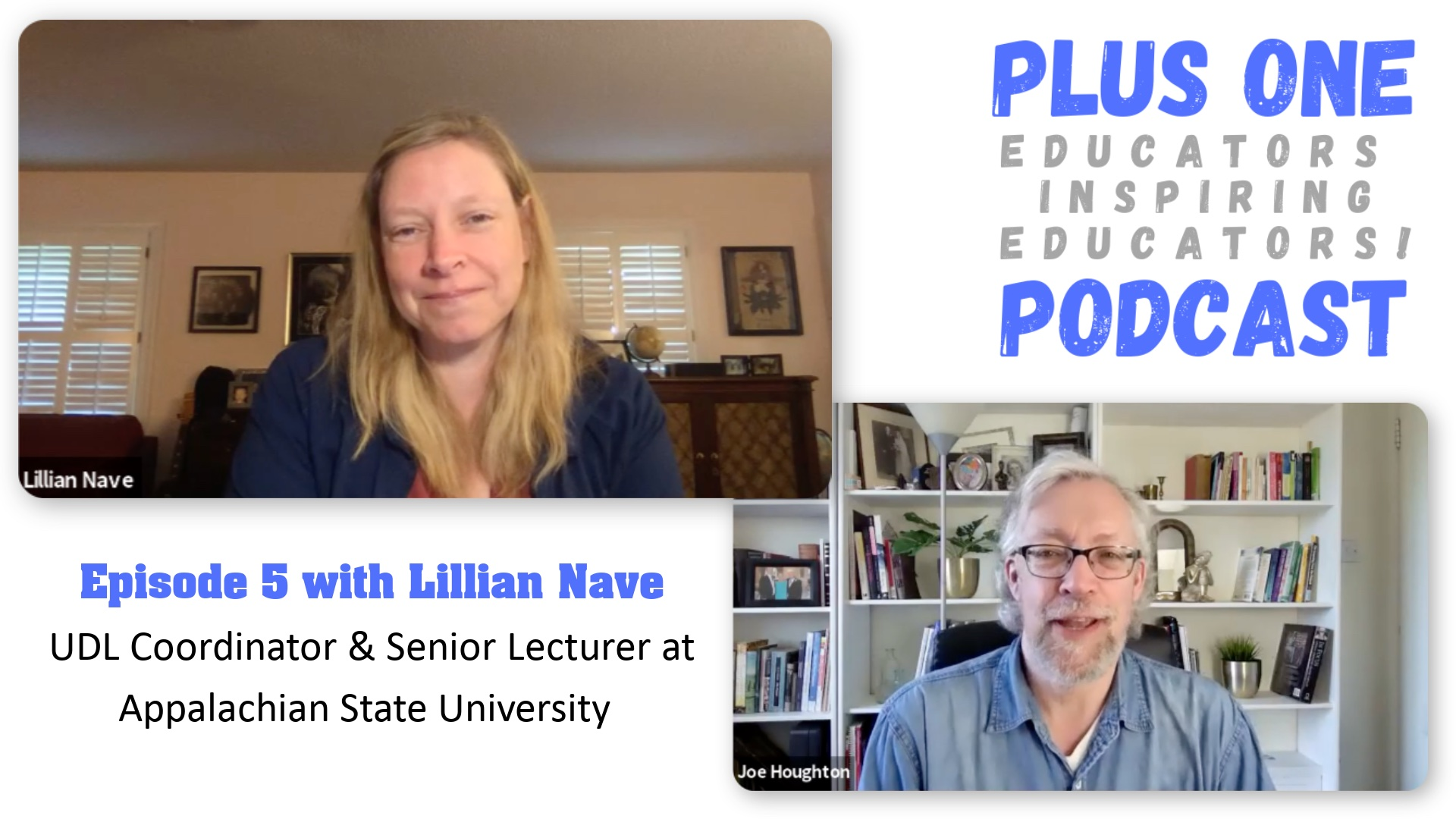 Episode 5 - Lillian Nave - UDL Research and development